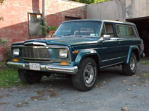 1988 Grand Wagoneer ~ Wally